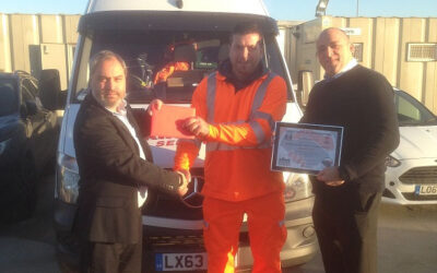 Kingman Recieves an award from Cemex for Recognition of Health and Safety!