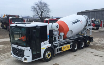 Kingman Starts To Roll Out It's New Fleet Of Econic Mixer Vehicles!